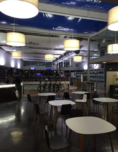 Parque comercial Artea interior