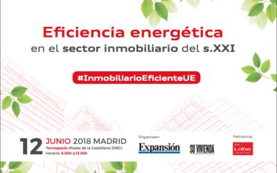 Raúl González, gerente de Vitruvio, participa en el evento sobre eficiencia energética de 'Expansión'