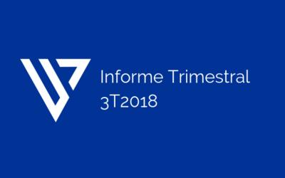 Informe Trimestral – 3er trimestre 2018