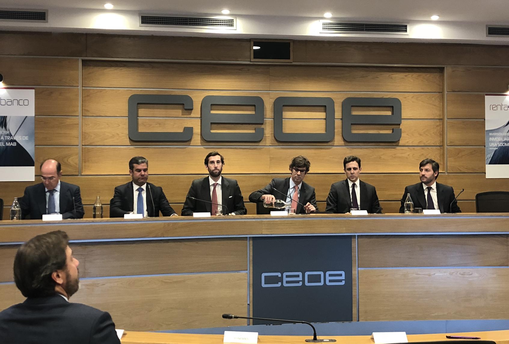 Mesa redonda Evento R4 CEOE 1