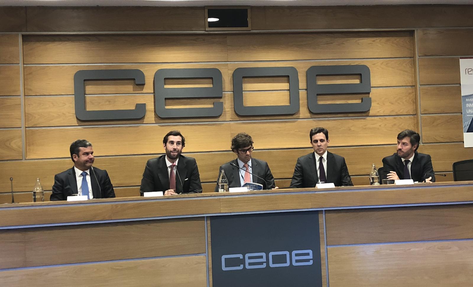 Mesa redonda Evento R4 CEOE 4