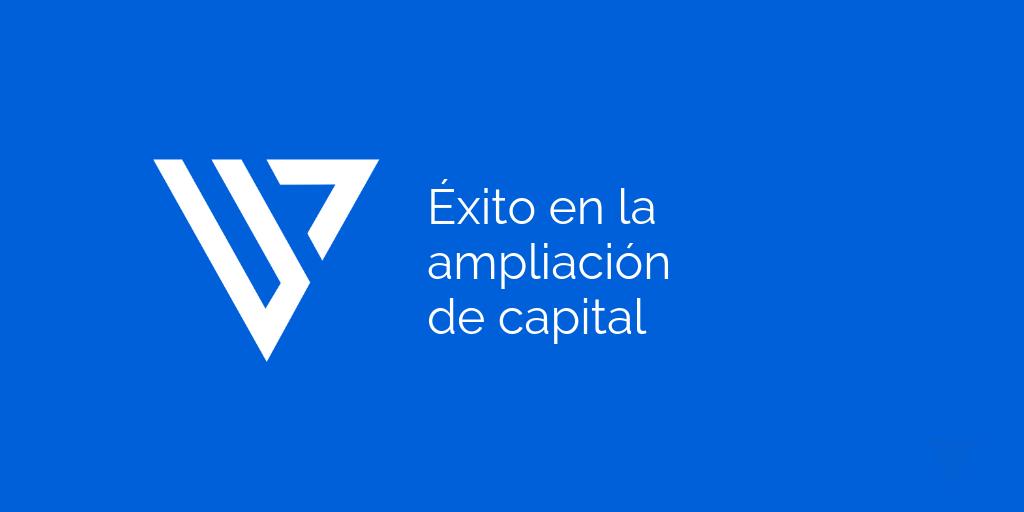 Vitruvio Socimi roza el doble de inversión en ampliación de capital
