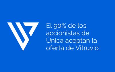 El 90% de los accionistas de Única aceptan la oferta de Vitruvio