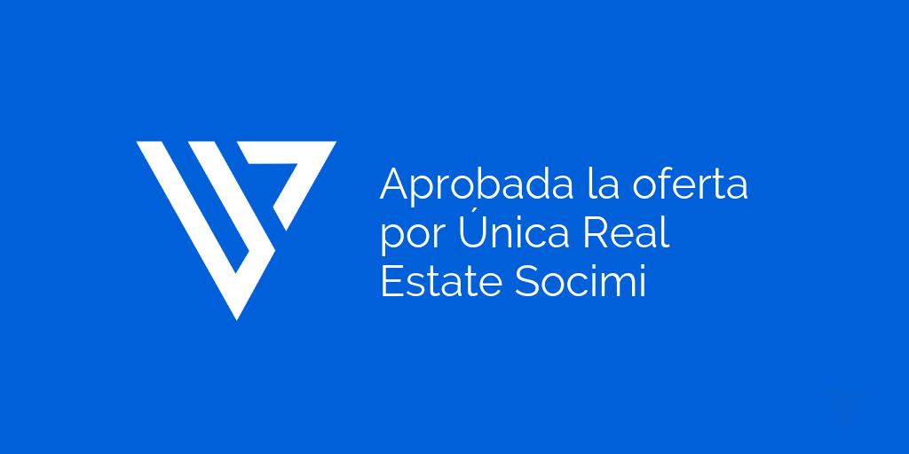 Aprobación Junta oferta Única Real Estate Socimi