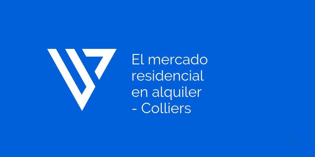 El mercado residencial en alquiler - Colliers