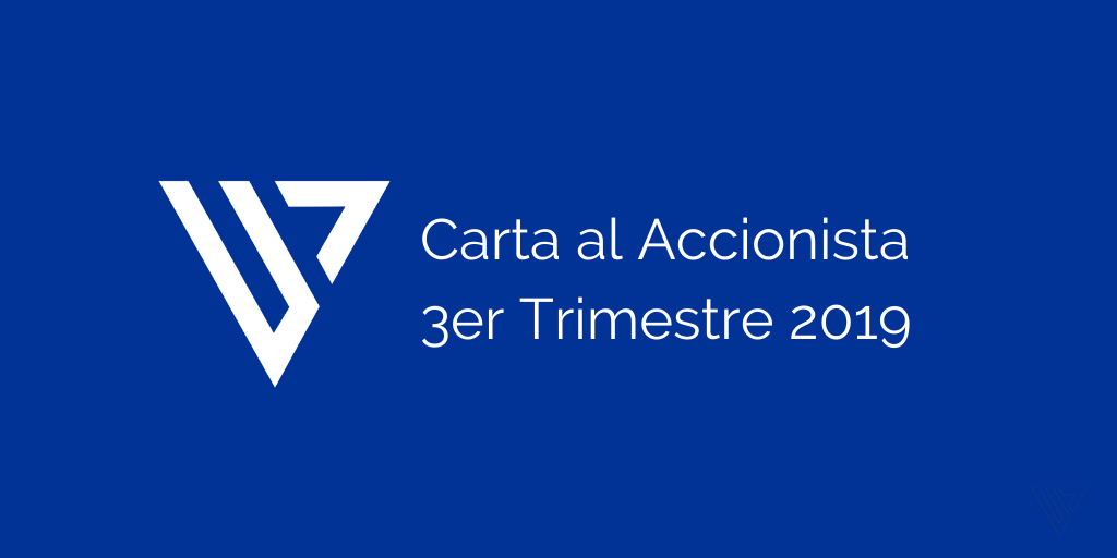 Carta accionista 3er trimestre
